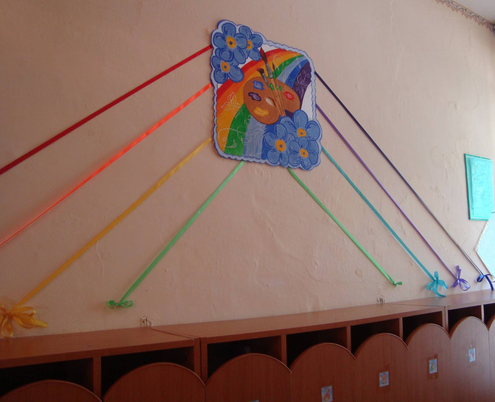 Уголок мы рисуем в детском саду своими руками фото